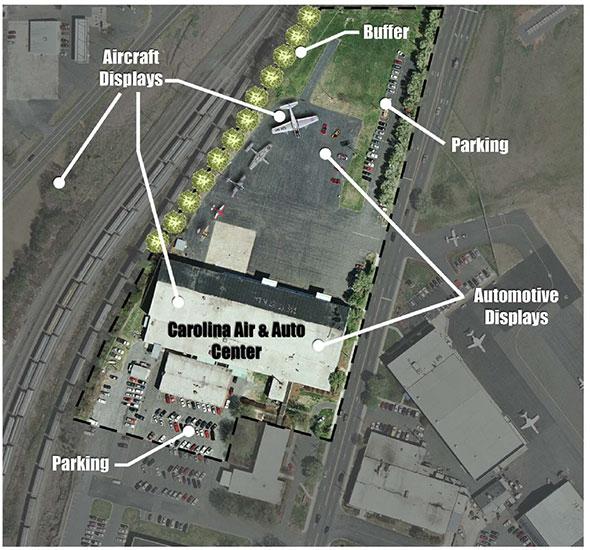 Air & Auto Center Site Plan